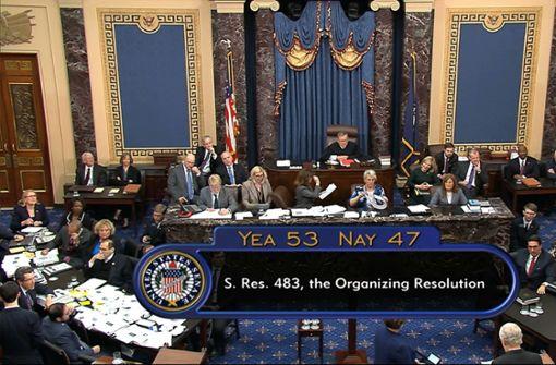 Senat legt nach zäher Debatte Prozedere fest
