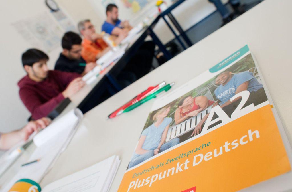 Müssten die Integrationskurse differenzierter sein? Foto: dpa/Julian Stratenschulte