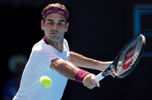 Virtuelle Tennisstunde von Roger Federer