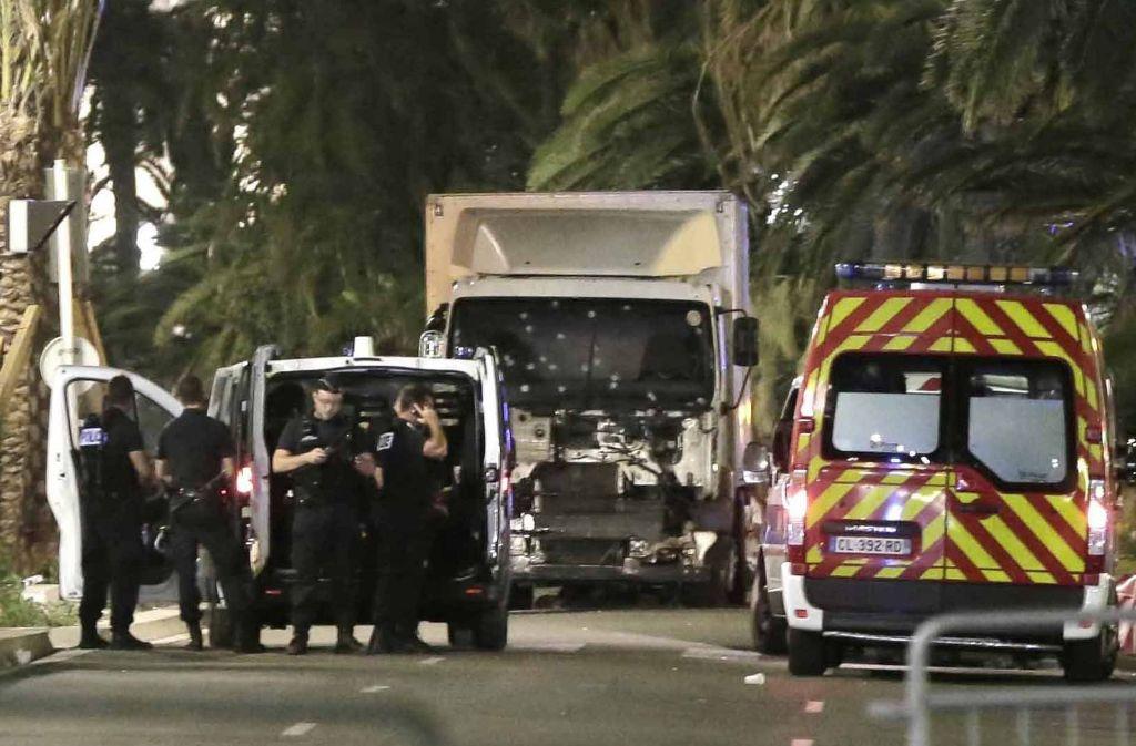 Vor einem Jahr sind bei einem Terroranschlag mit einem Lastwagen in Nizza 86 Menschen getötet worden. Foto: dpa