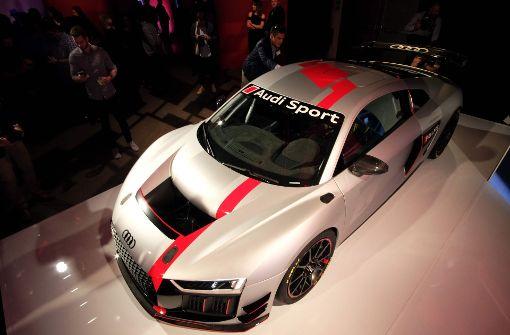Audi stellt den neuen R8 vor