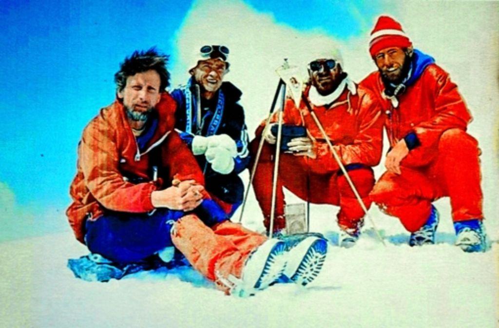 Der Gipfelsturm von 1989 soll wiederholt werden Foto: StZ
