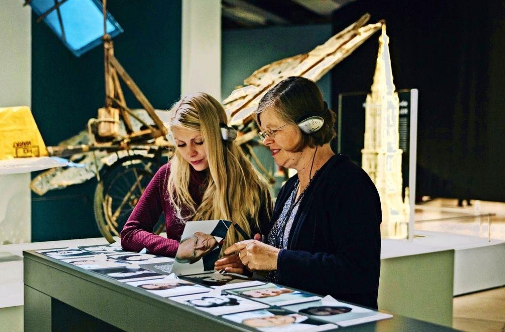 Die Schwaben-Schau im Landesmuseum lädt zum Mitmachen ein Foto: Lichtgut/Verena Ecker