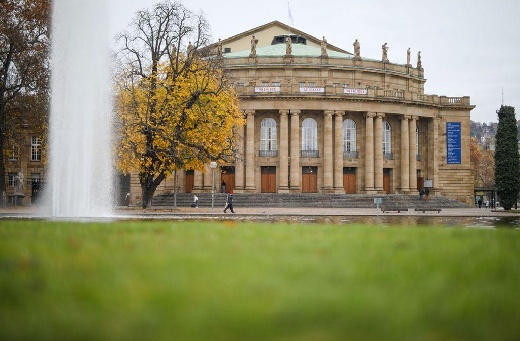 Außen prachtvoll, innen marode: Die Stuttgarter Oper. Foto: Lichtgut/Christoph Schmidt/Christoph Schmidt