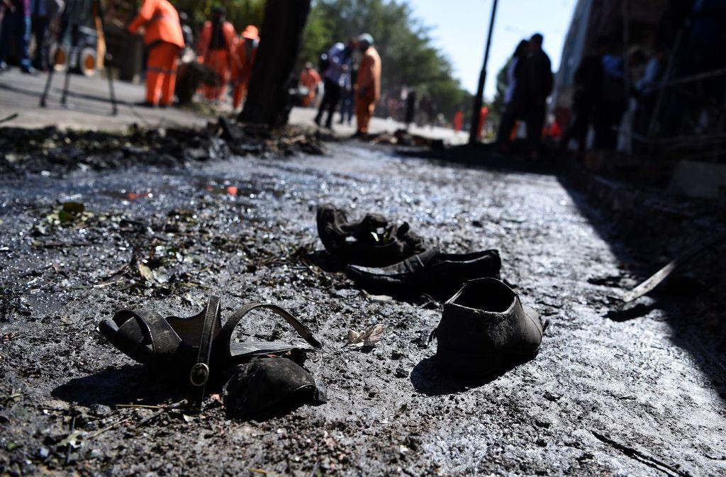 35 Zivilisten sollen bei dem Attentat getötet worden sein. Foto: AFP