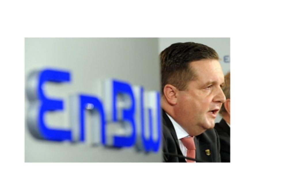 Offenbar hat Stefan Mappus 780 Millionen Euro zu viel bezahlt. Foto: dpa