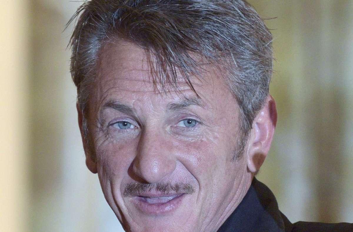 Der US-Schauspieler Sean Penn hat vor kurzem wieder geheiratet. Foto: dpa/Hans Punz