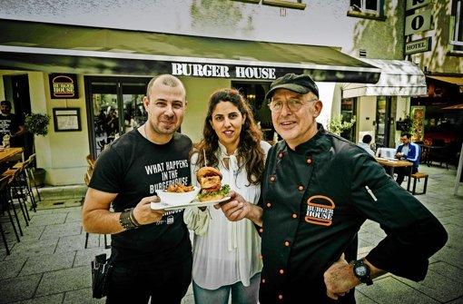 Ein neuer Burgerbräter in Stuttgart