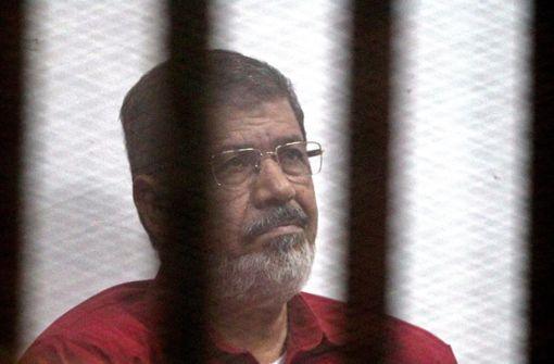 Ägyptens Ex-Präsident Mursi gestorben