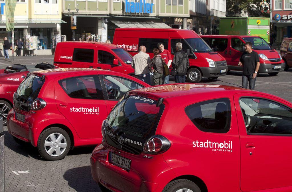 Stadtmobil hat kleine Stadtflitzer aber auch Transporter im Programm. Foto: /Horst Rudel