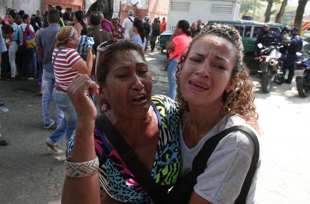 In Venezuela ist es zu einem schlimmen Unglück gekommen. Foto: ZUMA Wire