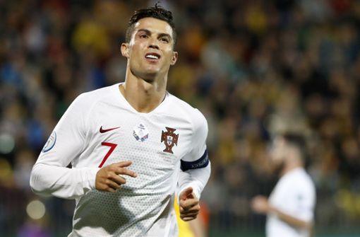 Ronaldo bricht bei TV-Interview in Tränen aus