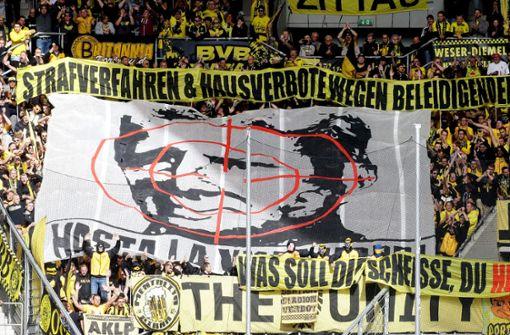 Zwist zwischen BVB-Fans und Hoffenheim-Mäzen Hopp