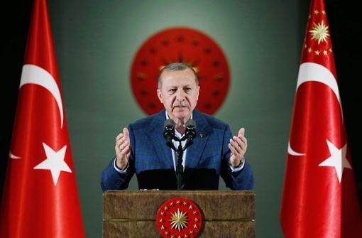 Die Türkei  und ihr Präsident