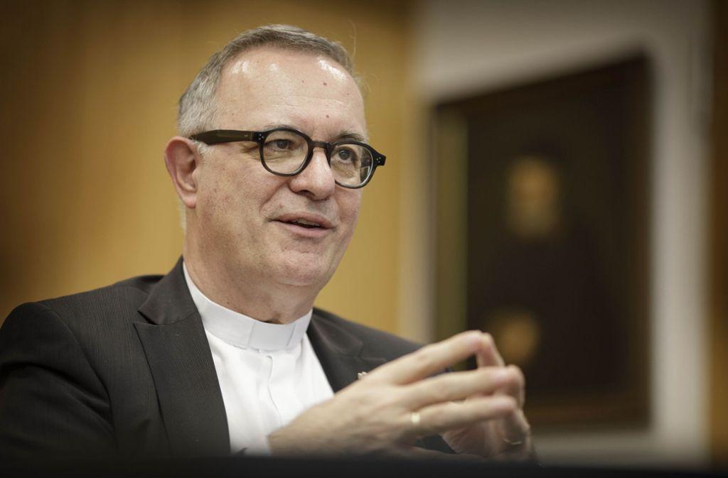 Der Landesbischof wünscht sich, dass Homosexuelle  in der Kirche bleiben. Foto: Gottfried Stoppel