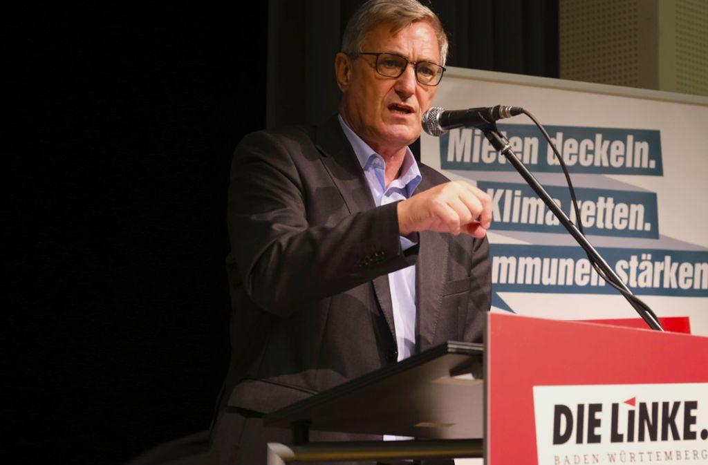 Steht wegen seiner Äußerung auf dem Kasseler Strategiekongress seiner Partei in der Kritik: Vorsitzender Bernd Riexinger. Foto: Die Linke/Roland Hägele