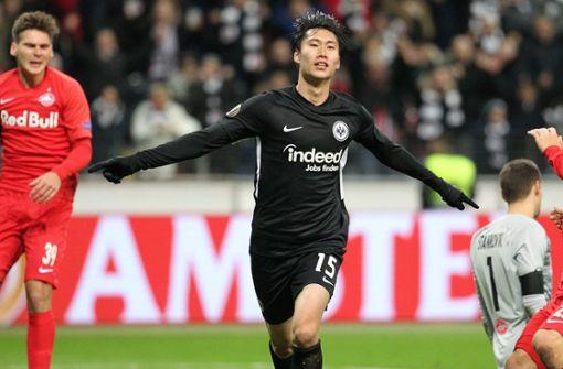 Kamada lässt die Eintracht jubeln: Achtelfinale nach 4:1 in Sicht