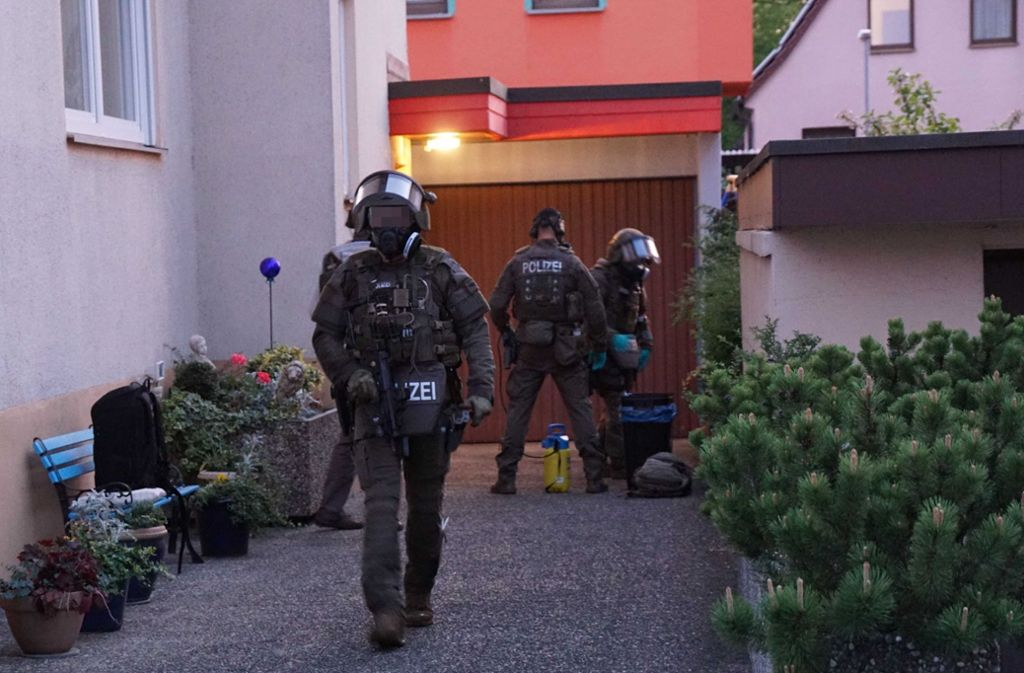 Bei einem SEK-Einsatz in Ebersbach an der Fils wurde ein Tatverdächtiger festgenommen. Foto: SDMG/SDMG / Kohls