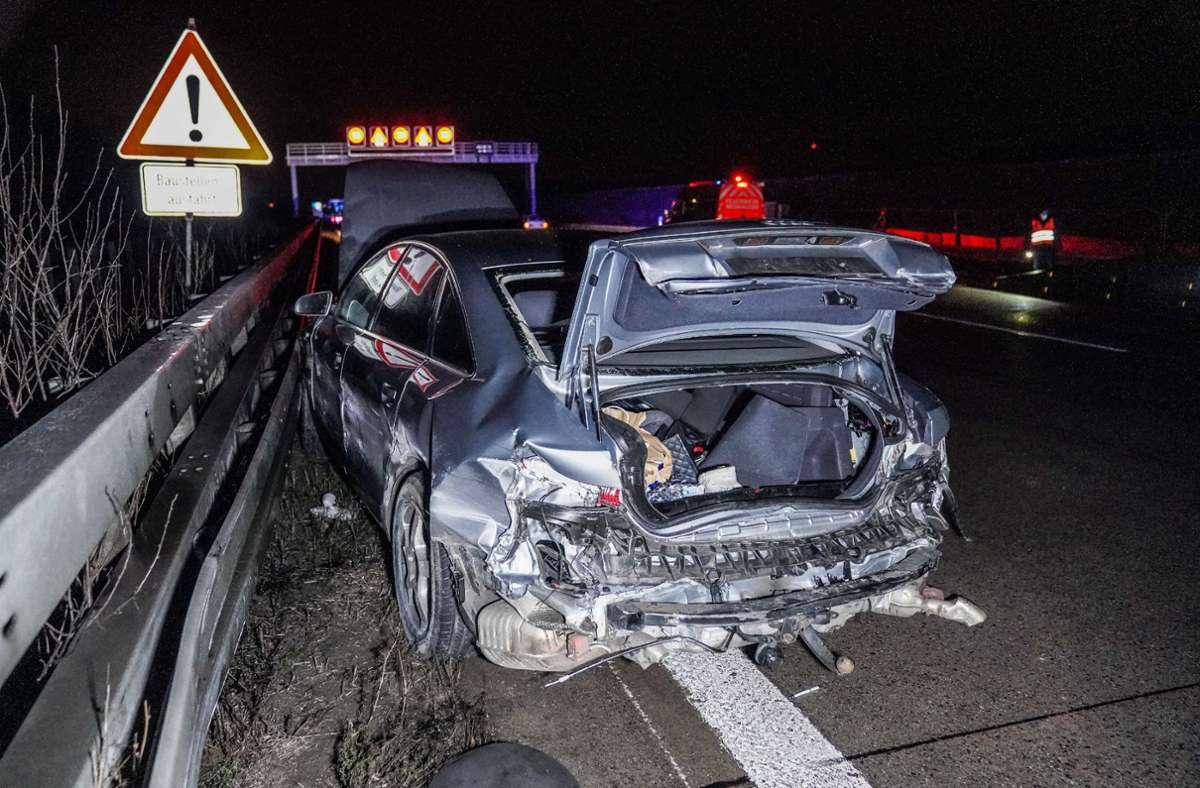 Der Unfall ereignete sich auf der A8 bei Wendlingen. Foto: SDMG/SDMG / Kohls