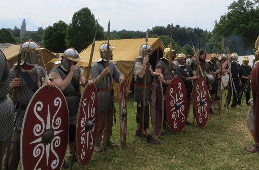 Römer, Reiter, Reisende