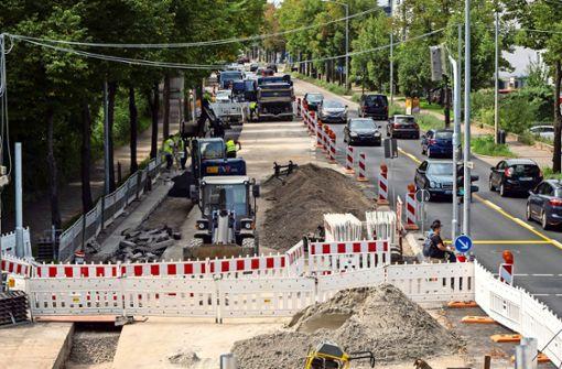 Schwieberdinger Straße wird saniert  – aber später