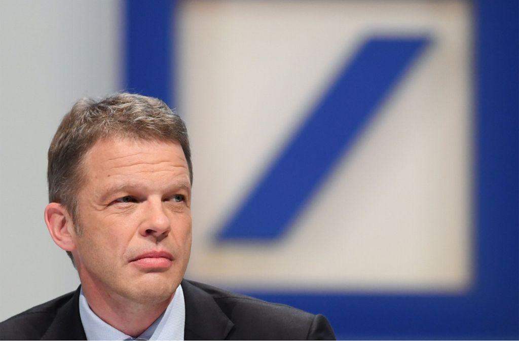 Ist mit dem eigenen Depot nicht so glücklich: Deutsche-Bank-Chef Christian Sewing. Foto: dpa