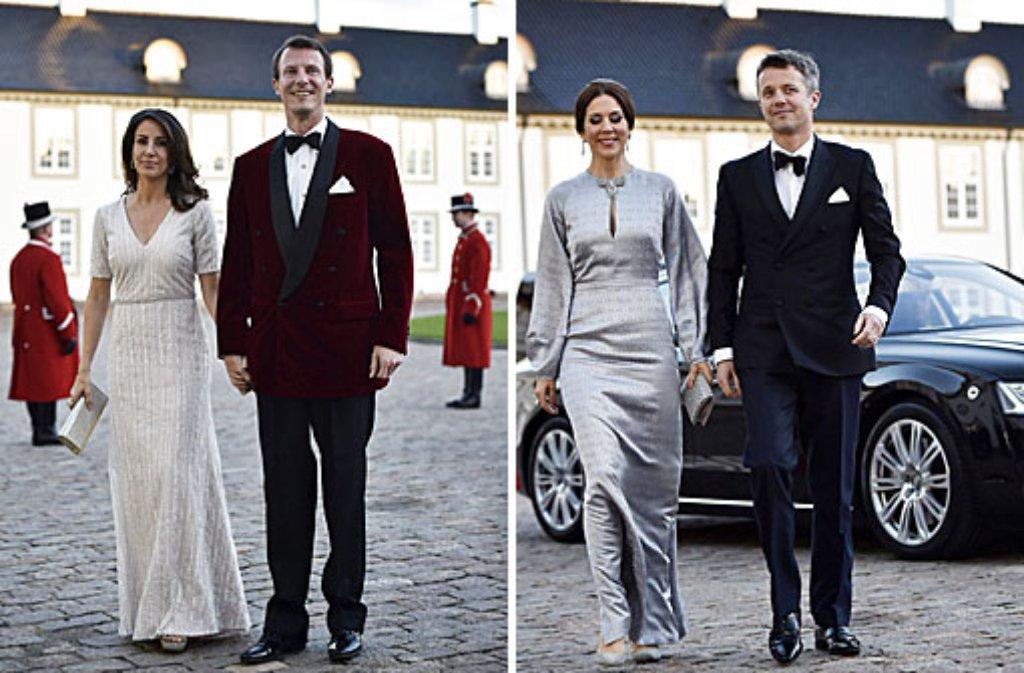 Prinzessinnen im direkten Stilvergleich: Marie (links) und Mary von Dänemark. Foto: dpa