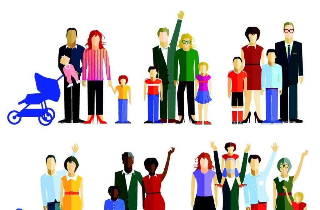 Es gibt viele Familienmodelle. Nicht immer gehört ein Trauschein dazu. Foto: adobe stock