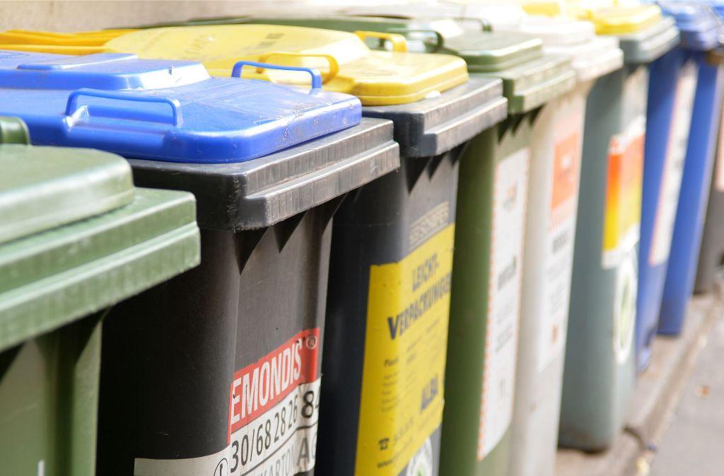 487 Kilo Müll produziert jeder Einwohner im Kreis Böblingen pro Jahr. Foto: dpa