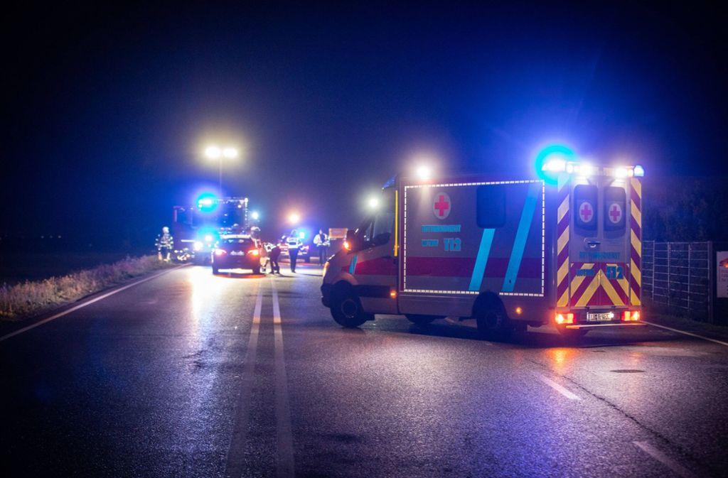 Bei Sachsenheim ist in der Nacht zum Sonntag ein junger Mann überfahren und geötet worden. Foto: 7aktuell.de/Simon Adomat