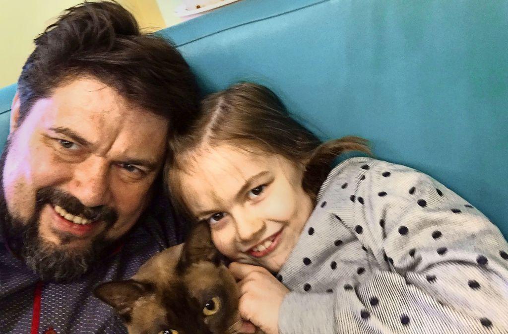 Im vergangenen Jahr durfte Thomas Karzelek einige Tage mit Lara  in Polen verbringen. Seither hat er keinen Kontakt mehr zu seiner Tochter. Foto: privat