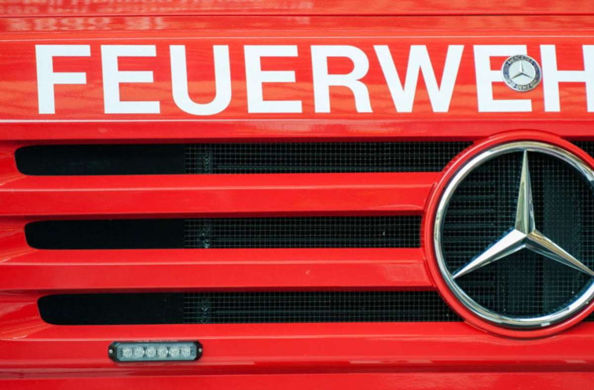 Feuerwehreinsart nach Brand  in Böblingen. Foto: Symbolbild