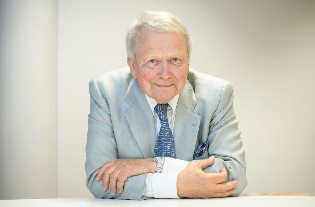 Auch mit 75 Jahren ist für Wolfgang Porsche noch nicht Schluss. Es gibt noch ein paar Dinge, die er erledigt sehen will. Foto: dpa