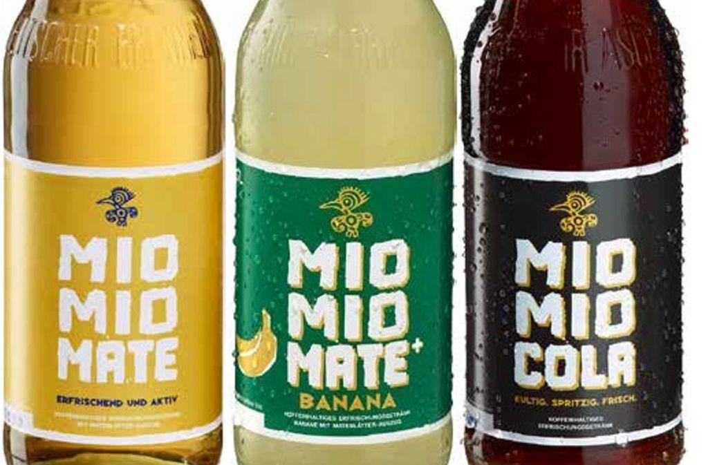 Auch Getränke der Marke Mio Mio Mate sind von dem Rückruf betroffen. (Symbolfoto) Foto: lebensmittelwarnung.de