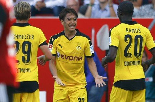 Dortmund ist Tabellenführer
