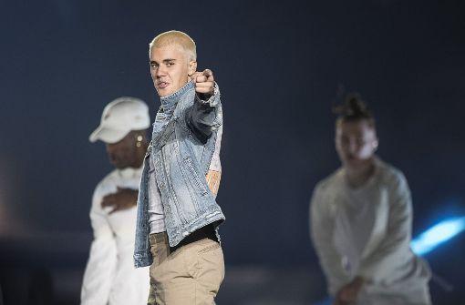 Justin Bieber neben der Spur