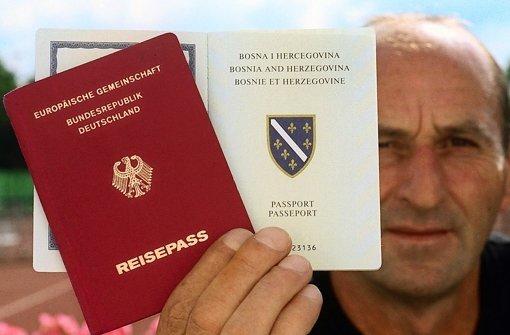 Auch Deutsche mit bosnischen Zweitpass müssen sich für ein Land entscheiden Foto: dpa