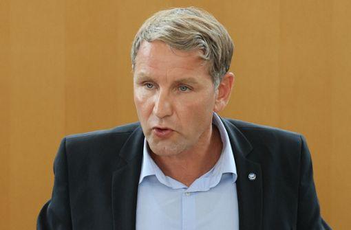 Björn Höcke als AfD-Landeschef bestätigt