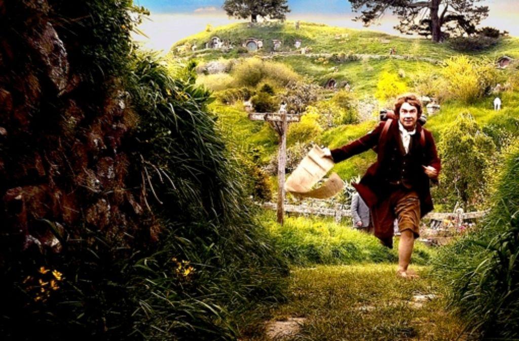 Der Hobbit Bilbo Butlin (Martin Freeman) ist im Kino ganz wild auf Abenteuer. Foto: Verleih