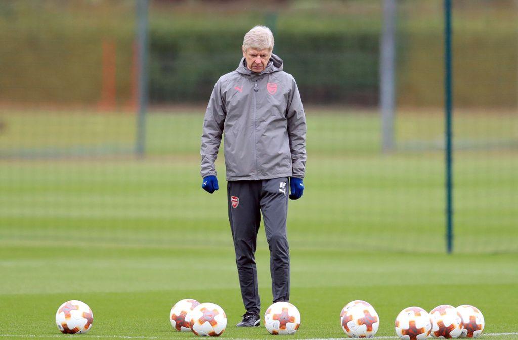 Arsene Wenger war 20 Jahre lang bei nur einem Verein – jetzt könnte er der neue Trainer des AC Mailand werden. Foto: PA Wire