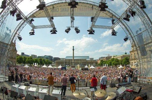 10.000 Stimmen eröffnen das Chorfest