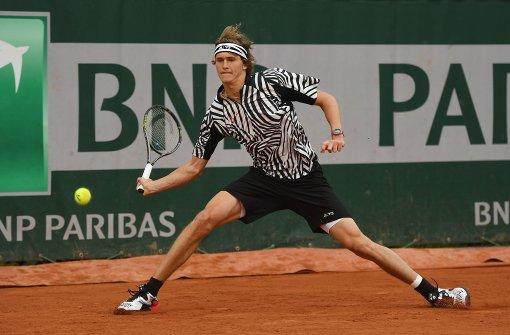 Hamburger Zverev erreicht zweite French-Open-Runde
