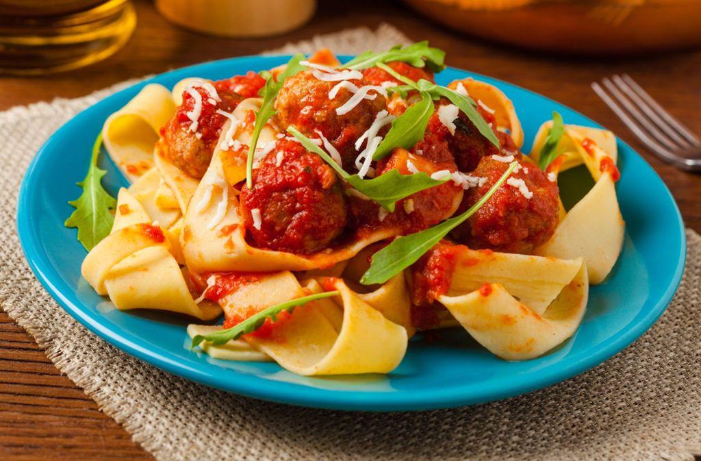 Ein Teller Pasta ist bis heute der Inbegriff  der italienischen Küche. Foto: gkrphoto - stock.adobe.com