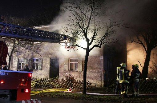 Zwei Tote bei Hausbrand