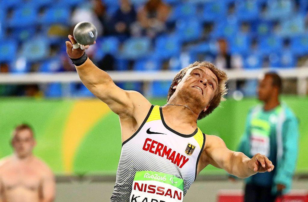 Niko Kappl holt aus zum großen Wurf.Niko Kappel holt aus zum großen Wurf. Foto: dpa