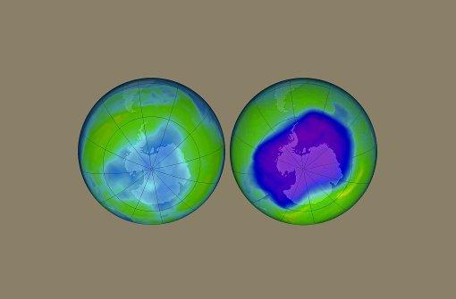 Das Ozonloch schließt sich