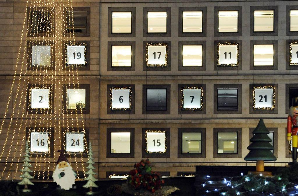 Der Stuttgarter Weihnachtsmarkt öffnet am Mittwoch seine Tore. (Archivfoto) Foto: dpa