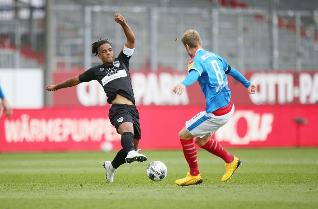 Wie steht es um Daniel Didavi (links) vom VfB Stuttgart? Foto: Pressefoto Baumann/Cathrin Müller