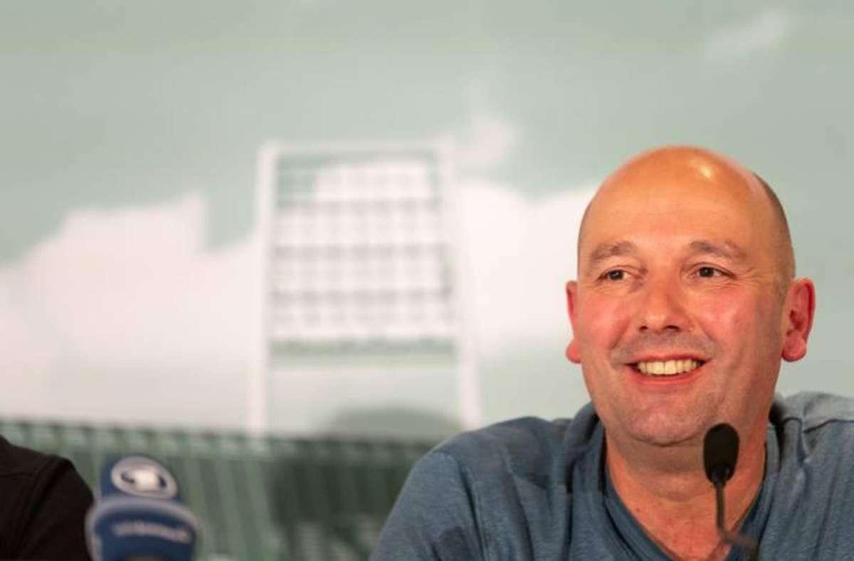 Harald Panzer: Sein Unternehmen Wohninvest zahlt drei Millionen Euro pro Jahr für die Vornamensrechte am Bremer Weserstadion. Foto: imago/Nordphoto