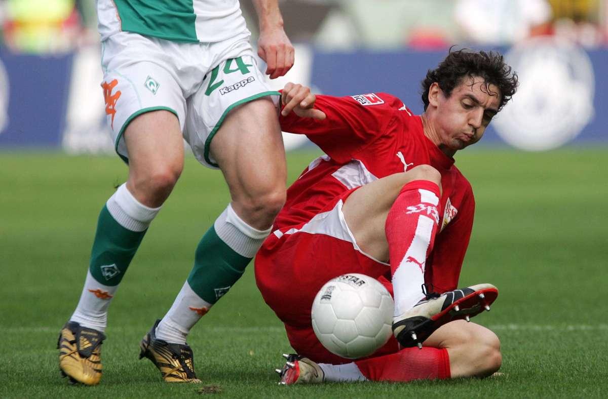 VfB-Neuzugang Roberto Hilbert erlebte 2006 in Bremen ein Wechselbad der Gefühle. Foto: imago